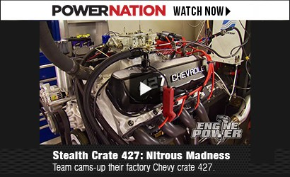 PowerNation : Engine Power 427 ci Nitrous Madness Dyno Test